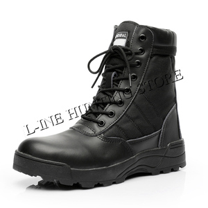 Image 3 - Tactical Boots Military Mens Desert Army Boots Hiking Training Waterproof Shoes Outdoor Combat Climbing Hunting Sport Shoes