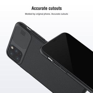 Image 5 - Nillkin para iphone 11 pro max caso slide capa para câmera de proteção para iphone 11 caso 2019 capa traseira para iphone 11 pro caso
