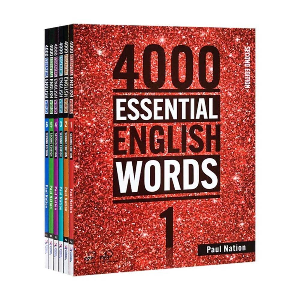 New 6 Books / Set 4000 Essential English Words Level 1-6 IELTS, SAT Core Words English Vocabulary Book