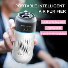 Hepa очиститель воздуха автомобильный портативный воздухоочиститель