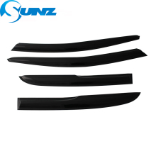 Car Window Deflector Visor For Morris Garages ZS 2017 2018  Black Door visor 2017-2018 SUNZ
