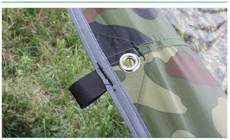 Ar Livre Dossel Tenda Camouflage Dormir Mat