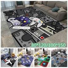 Gamer Controller Bereich Teppiche Non-Slip Boden Matte Fußmatten Hause Runner Teppich Teppich Für Schlafzimmer Indoor Outdoor Kind Spielen matte Werfen Teppiche