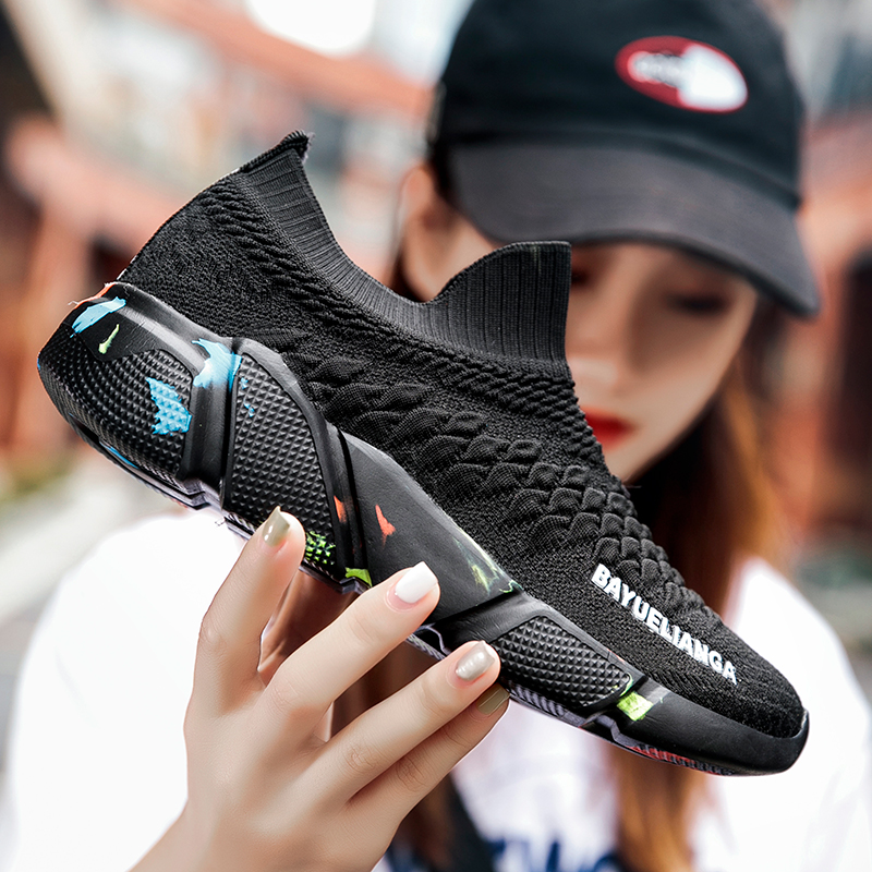 FTROCHB Autumn New Men's Sports Shoes Comfortable Outdoor Non-slip Men Sneakers High Quality Autumn Women Running Shoes Zapatos