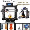 3D Impresora Gran Venta Mejorada de Alta Precisión Reprap Prusa I3 Diy para Modelar Reino Unido Usa Stock