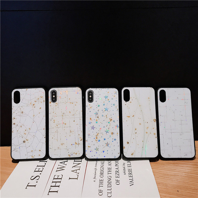 Glitter Stars Case For huawei P30 Pro For huawei p20 lite P30 p smart 2019 Y9 Y6 honor 20 Pro 8A 8x Y7 2019 bling cover