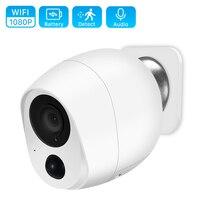 1080P telecamera a batteria Mini a bassa potenza telecamera IP Wifi esterna 2MP PIR Motion rileva telecamera CCTV di sicurezza Wireless domestica intelligente iCSee