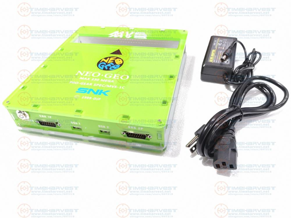 New Version JAMMA <font><b>CBOX</b></font> SNK CMVS 1C to DB15 SNK Joypad & USB Gamepad RGBS YCBCR AV output for NEOGEO Game Cartridge 161 in 1 card image