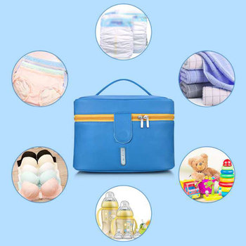 UV Sterilizer Box Led Disinfection Bag Deodorant Cleaner Storage Bag Waterproof Dual Band Nano For Baby Bottle Sterilizer Box
