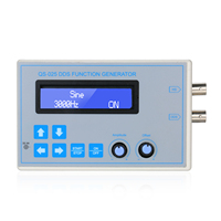DC9V DDS Function Signal Generator Sine Square Triangle Sawtooth Low Frequency LCD Display USB Cable 1Hz-65534Hz