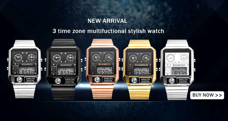 H8505dbb6174240bc90d2883e52bba79ab BOAMIGO Fashion Mens Watches men Military Digital analog Quartz Chronograph sport Watch  Waterproof wristwatch relogio masculino
