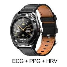 B6 ساعة لياقة بدنية ذكية ECG PPG HRV معدل ضربات القلب ضغط الدم النوم رصد الصحة المقتفي الرياضة الأعمال IP68 هزة التحكم