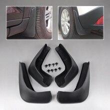 Брызговики для автомобилей, черные Брызговики для Honda fit Jazz 2008 2009 2010 2011 2012, аксессуары