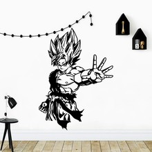 Wallpaper Cartoon Anime Vinyl Wall Decal Simple Home Decoration Art Poster Mural New Design LW323
