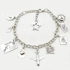 The Pentagram Earth Plane Bracelet Does Not Matter Where The Pendant Travel Bracelet Friendship Best Friend Jewelry DIY Handmade