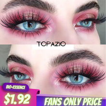 TOPAZIO/ICE/AVELA Colored Contact Lenses 2pcs(1Pair) Yearly Use Gray Eye Contacts Blue Lenses Natural Fashion Lenses Cosmetic