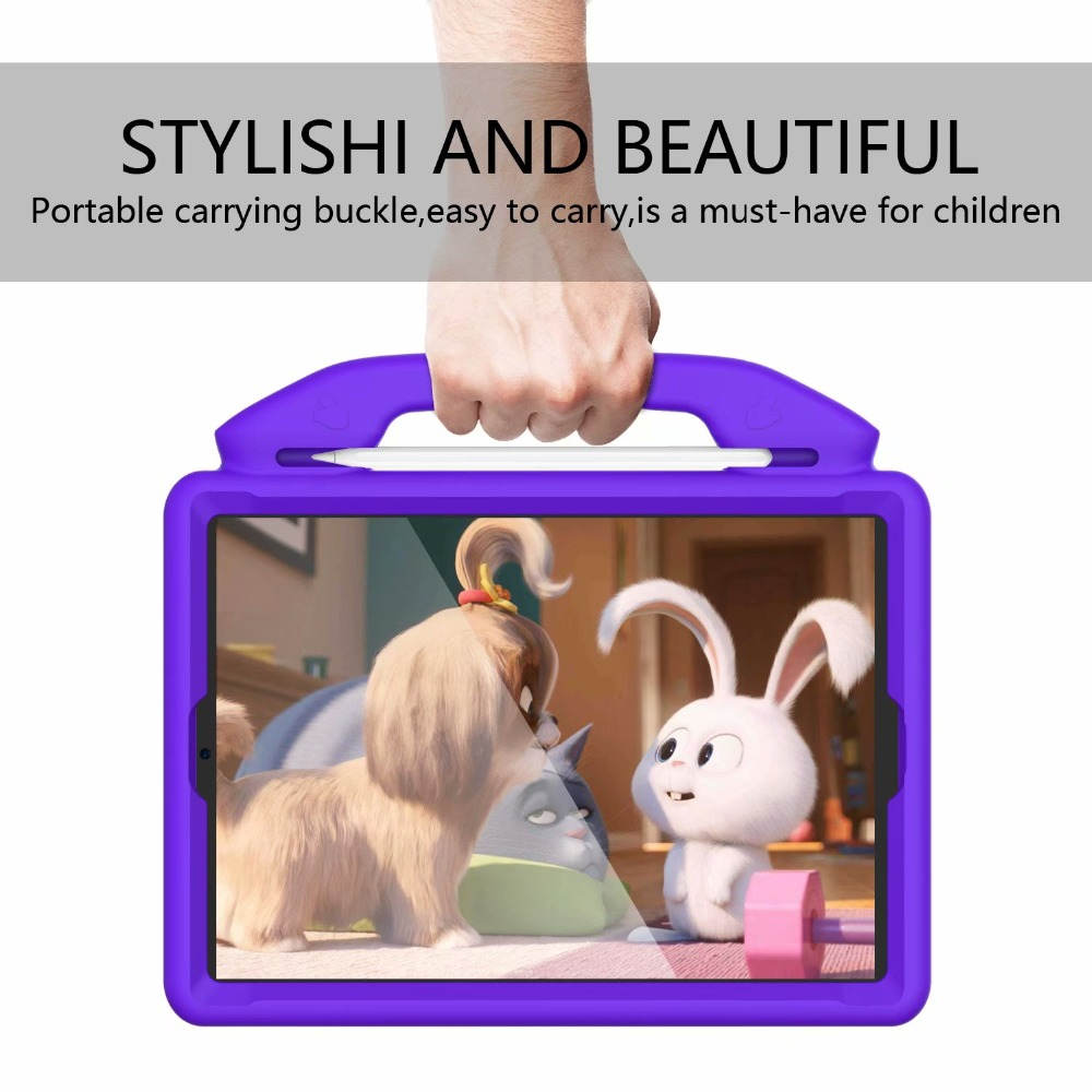 iPad Generation Safety 7th A2200 A2198 10.2 A2232 Thumb 2019 Cover Kids For Friendly