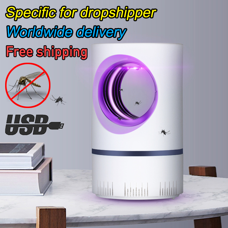 Electric Mosquito Killer Lamp Usb Muggen Insect Killer Bug Zapper Anti Mosquito Trap Fly UV Lamp Kitchen Outdoor Dropshipping