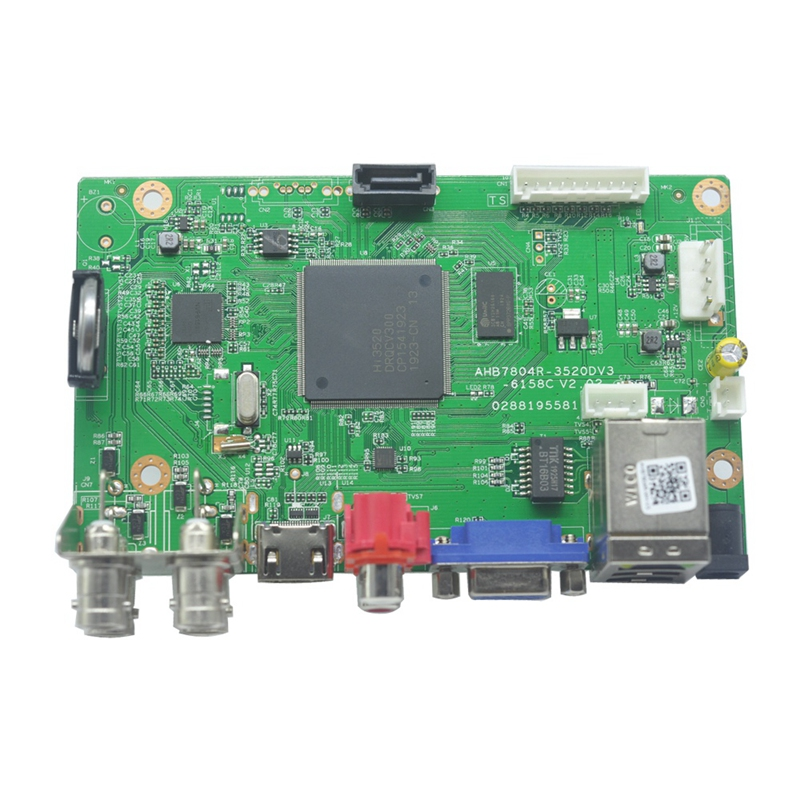4 CH Hybrid DVR Board 5MP-N H.265 NVR DVR Security CCTV Video Recorder 4 Channel Board