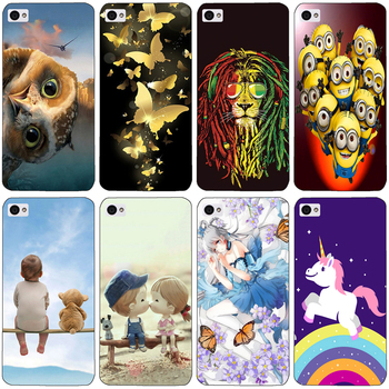 ase for lenovo s90 S 90 soft Silicon cartoon cat Painting Soft TPU Back Cover for lenovo s90t S90a S90 protect Phone shell image