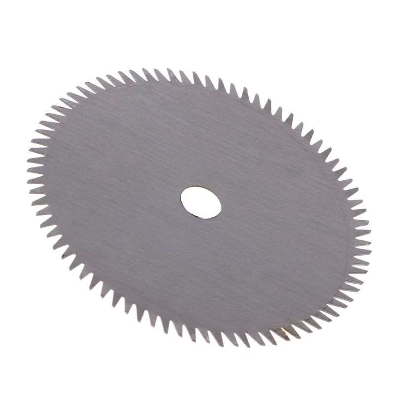 80T Circular HSS Saw Blade Tipped Cutting Disc For Acrylic Plastic 40JE