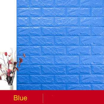 77x70cm 3D wall sticker self-adhesive foam wallpaper waterproof background wall sticker rough wall rental house ceiling sticker image