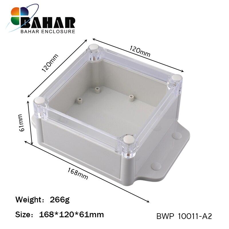 Various Sizes Electronic Plastic DIY Junction Box Enclosure Project Case White