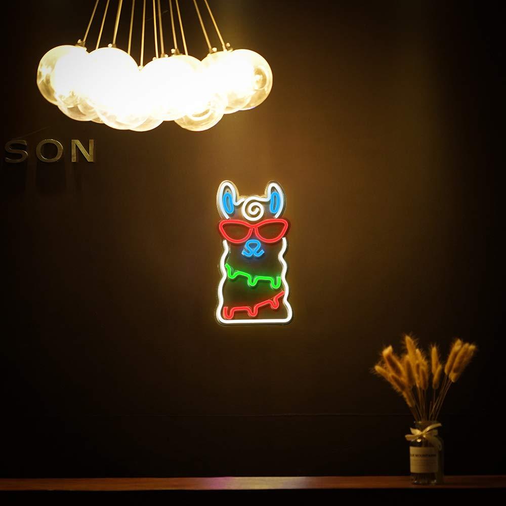 5 tipo Bar Luz Neon Partido Pendurado