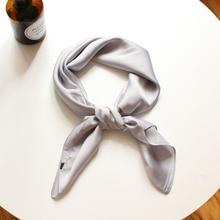 2020 new fashion Women Printing Gray Long Soft Paris Yarn Scarf Wrap