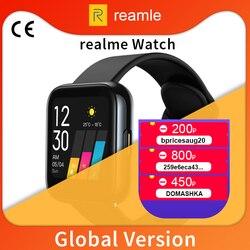 Глобальная версия realme Смарт-часы сердечного ритма кислорода в крови 1,4 дюймов большой сенсорный экран 14 Спортивная модель IP68 Водонепроница...