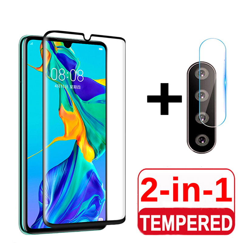 2 In 1 9D HD Transparent Film For OPPO A31 A91 A5 A9 2020 Rear camera lens Screen Protector scratch