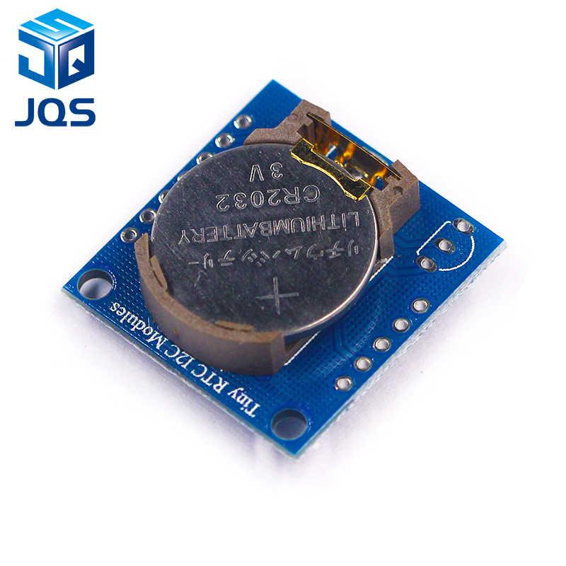 1 Cái Nhỏ Bé RTC I2C Mô Đun 24C32 Nhớ DS1307 Đồng Hồ RTC Mô Đun Cho Arduino (Không Có Pin)