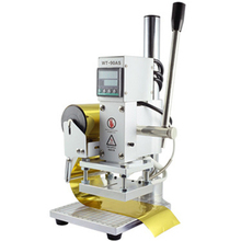 Automatic Small Manual Hot Stamping Machine Digital Display Temperature Control leather Wood full Version The Scale Bottom Plate