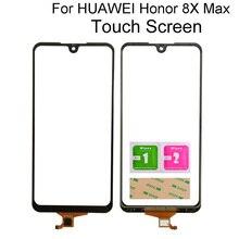 נייד Digitizer לוח עבור Huawei Honor 8X מקס/Y מקסימום מסך קדמי מגע מסך Digitizer זכוכית חיישן כלים 3M דבק