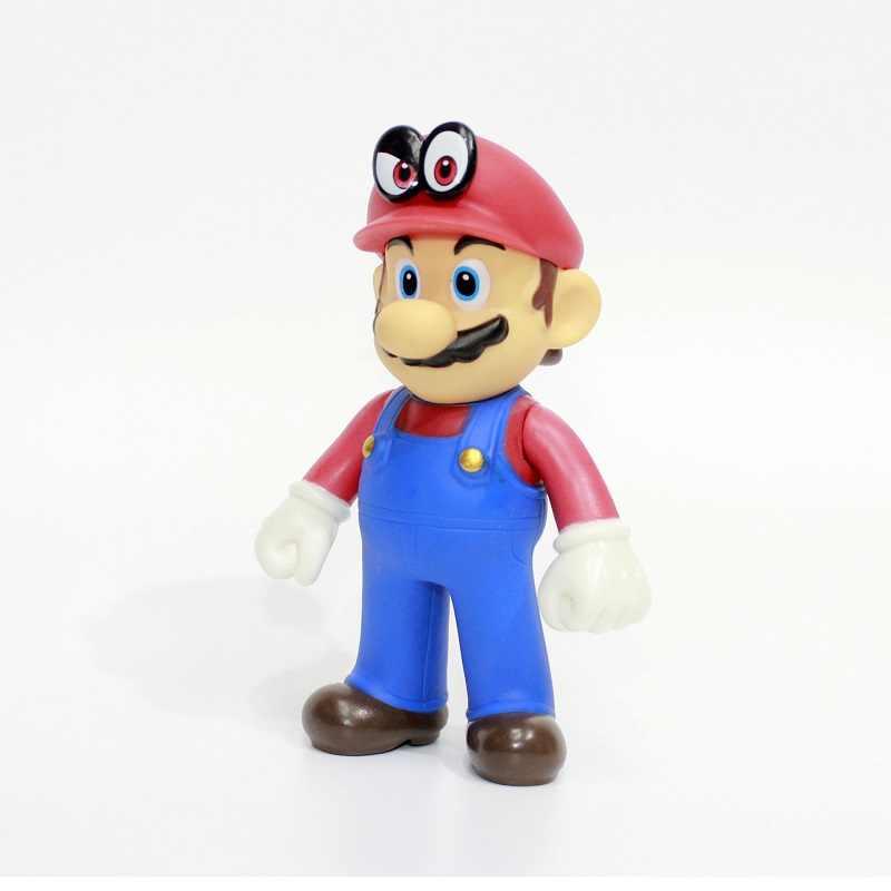 Super Mario Bros Action Figures Model lalki dla dzieci zabawki dekoracji japonia gry żołnierz dżentelmen sukienka się Mario prezenty dla dzieci