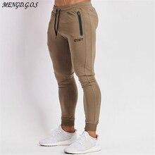 Streetwear casual men's trousers 2020 muscle fitness men's sports pants jogger e