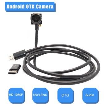 цена на 1080P OTG Camera Wide angle mini camera 2MP Android Camera Mobile phone Android OTG external camera Mircro Usb otg mini camera