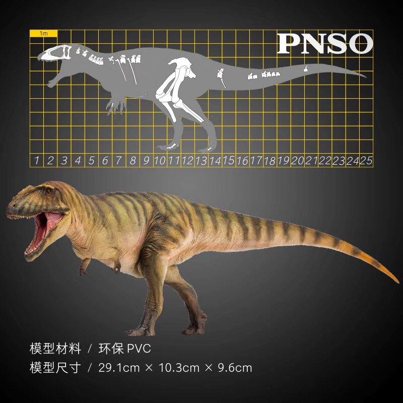 Новое поступление PNSO Carcharodontosaurus игрушка-динозавр доисторические животные модель Дино Классические игрушки для мальчиков и детей