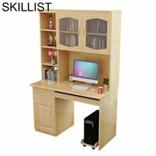 Bed Mesa Dobravel Notebook Schreibtisch Office Desk Shabby Chic Wooden Stand Computer Bedside Laptop Table With Bookcase все цены