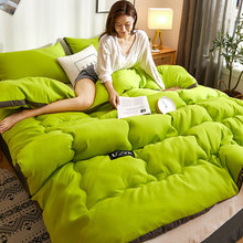 Couette en coton dlav de style japonais paissie couette 3D noire, couettes d'hiver 220*240cm couverture de lit de maison couvert