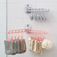 Drying Racks Can Be Moved Home Multi-Purpose Hangers Plastic Multi-Column Windproof Clothespins Underwear Socks