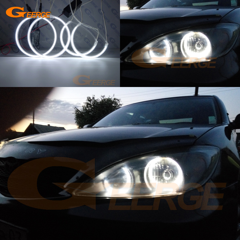 For Toyota Camry XV30 Pre facelift 2002 2003 2004 Excellent Ultra bright headlight illumination CCFL angel eyes kit halo rings