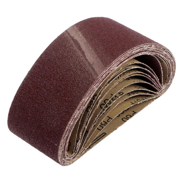 Лента абразивная бесконечная TUNDRA, на тканевой основе, 75 х 457 мм, Р60, 10 шт. 1300819|Абразивы|   | АлиЭкспресс
