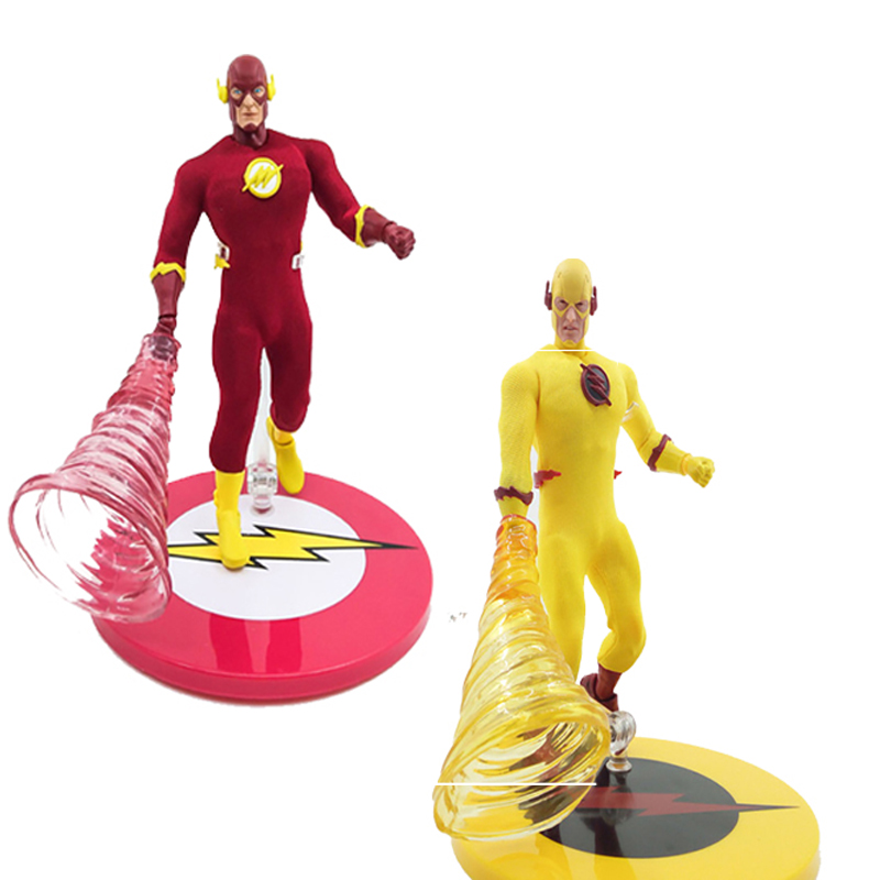 6inch Mezco One:12 The Flash DC Comics The Flash Action Figure Collectable Toy Doll image