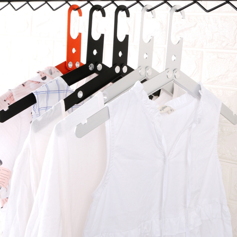 Outdoor Travel Hangers Folding Clothes Hangers Aluminum Alloy Collapsible Hanger Drying Rack Camping Picnic Hanger For Travel To in Outdoor Tools from Sports Entertainment