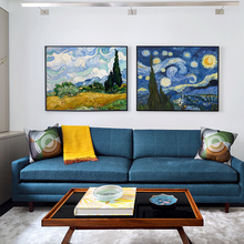 World famous painting Van Gogh abstract oil color printing family living room or office decoration digital HD