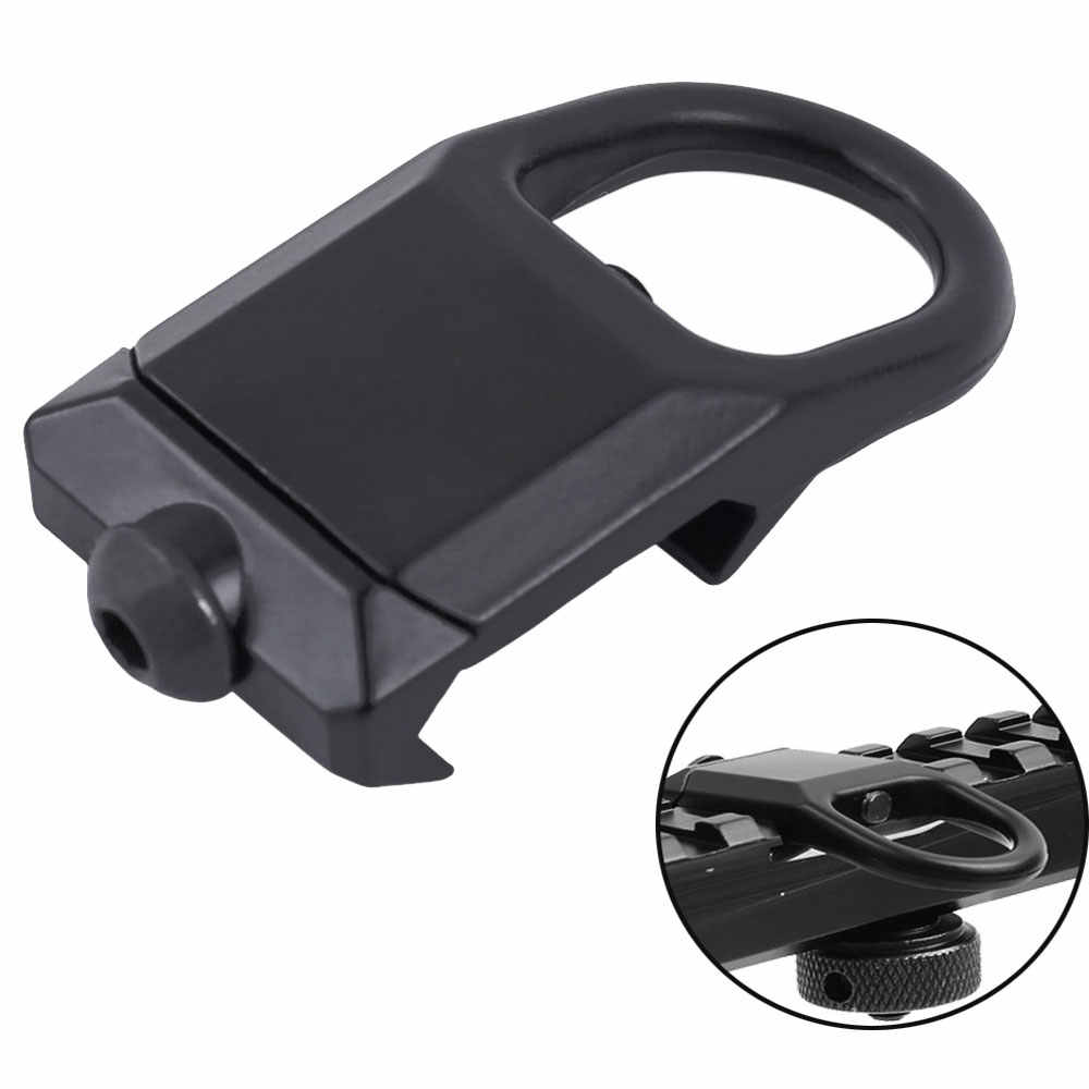 New Tactical Quick Detach Sling Mount Plate attachment for 20mm Picatinny RailZB