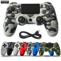 WUIYBN 有線ゲームパッド PS4 コントローラジョイスティックソニーデュアルショックプレイステーション 4 ゲーム機コンソール Pc 蒸気