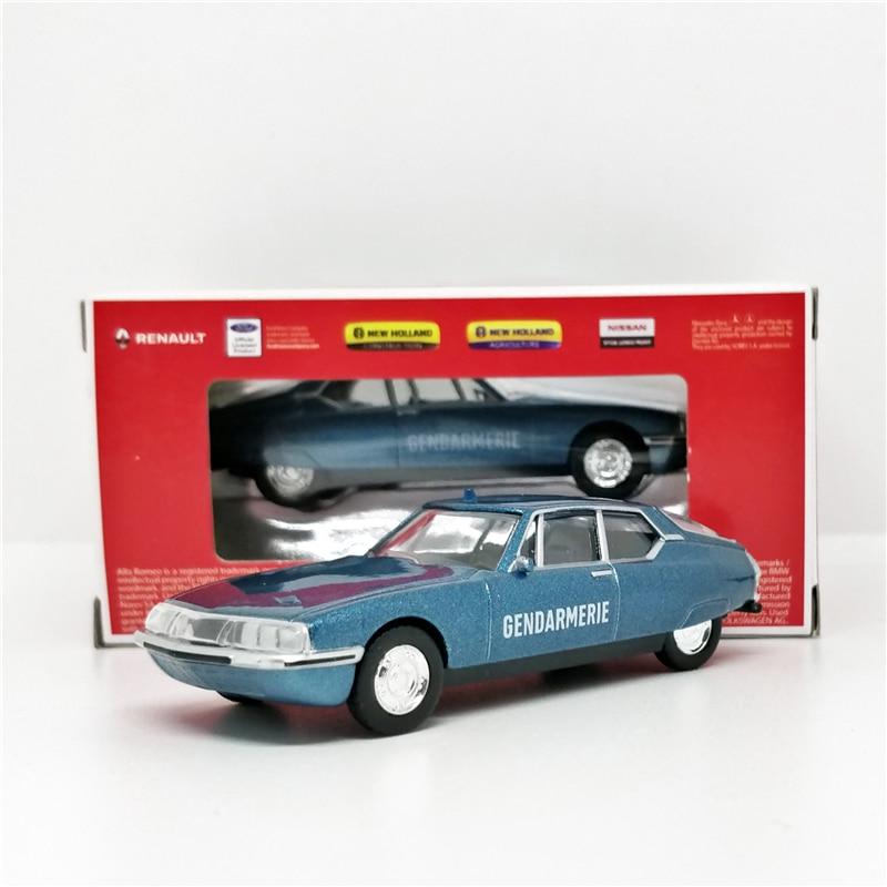 Norev 1:64 Citroen SM 1971 Blue Diecast Model Car