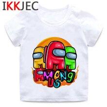 T-Shirt Children Kids Clothes Fille Among Us Aesthetic Teenage Baby Kawaii Enfant